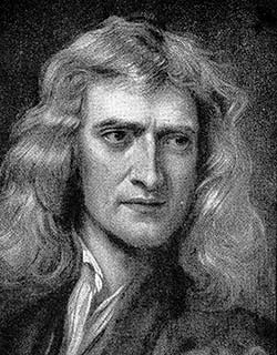 ISAAC NEWTON - ROSE CROSS ORDER